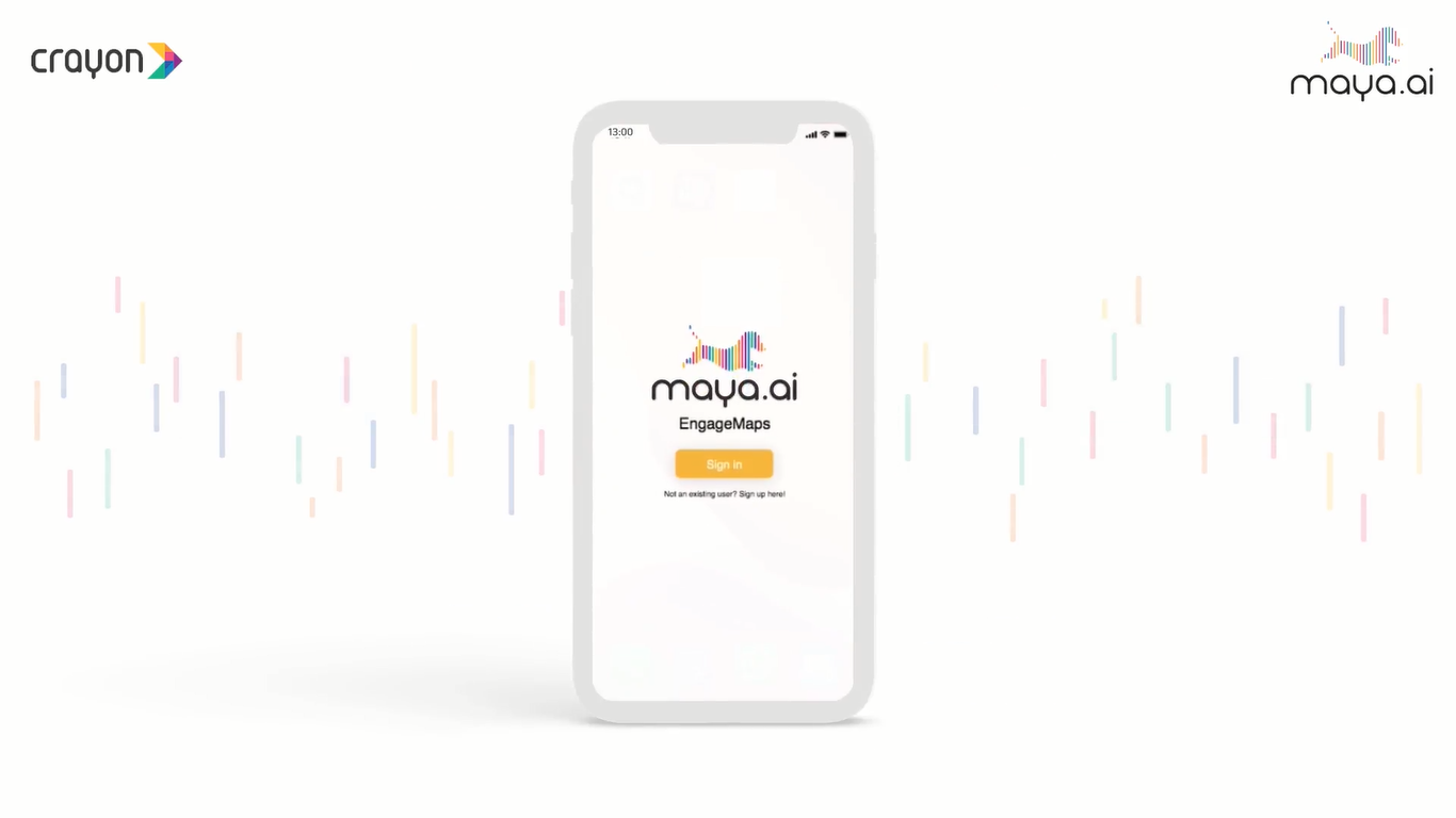 maya.ai platform teaser: the AI platform powering the age of relevance