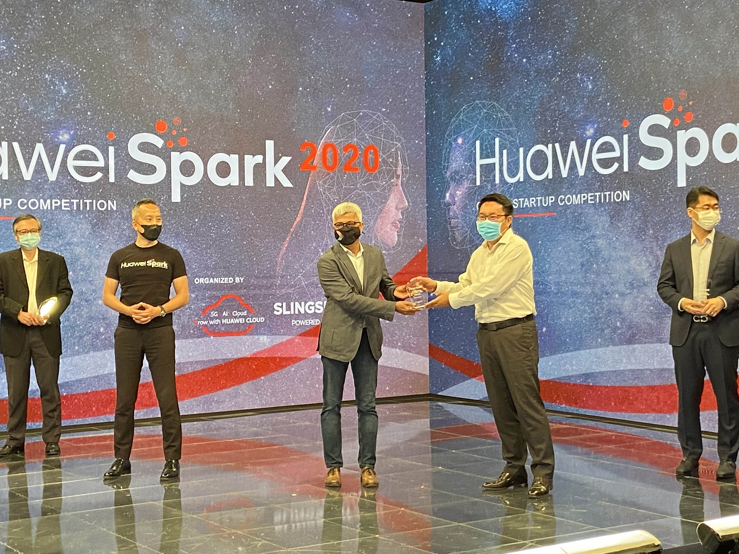 maya.ai declared first champion of Huawei Spark 2020 - Global Startup Competition