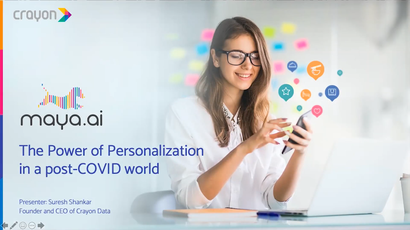 Crayon Data presents the power of personalization @ Big Data APAC Virtual Summit