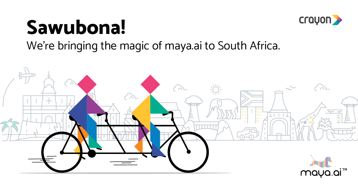 Crayon Data takes the magic of maya.ai to South Africa