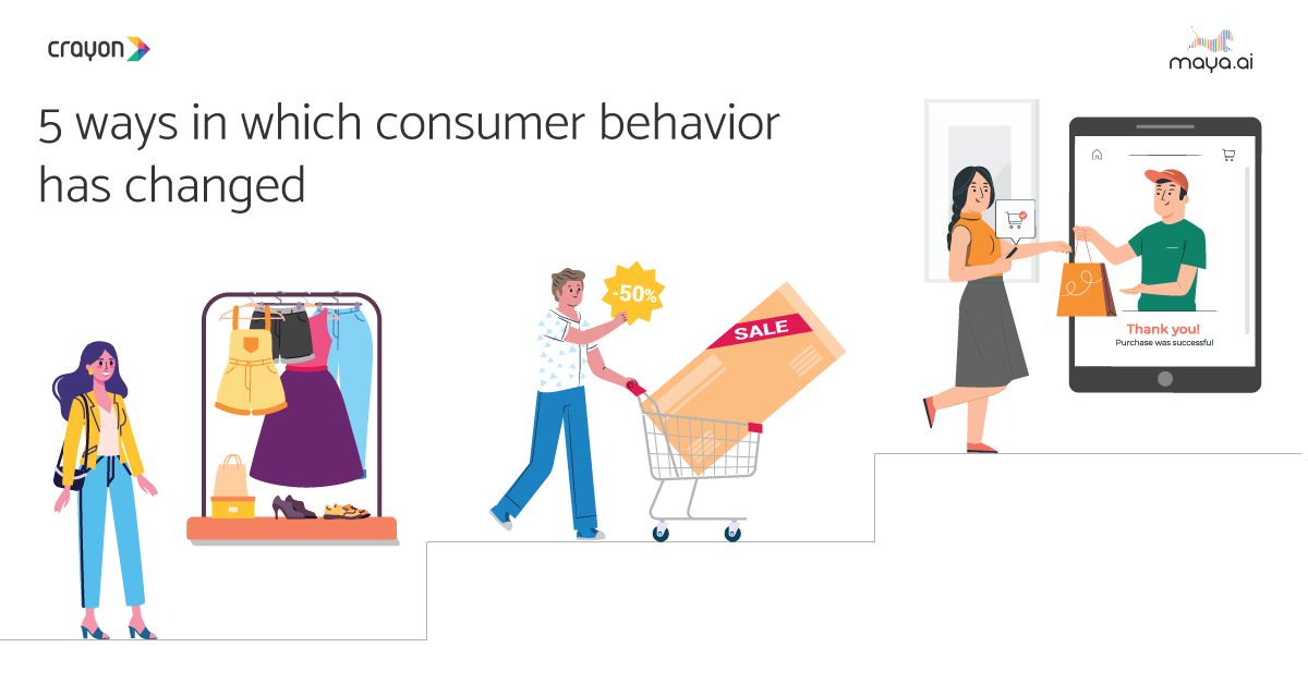 5 ways in which consumer behavior has changed over the years
